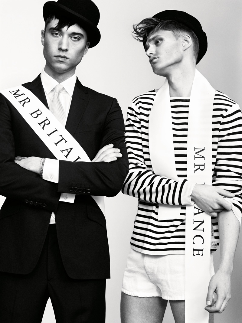Christian Larsson, Roger D & Ben Palmer by Marcus Ohlsson for NL Spring/Summer 2012 Campaign