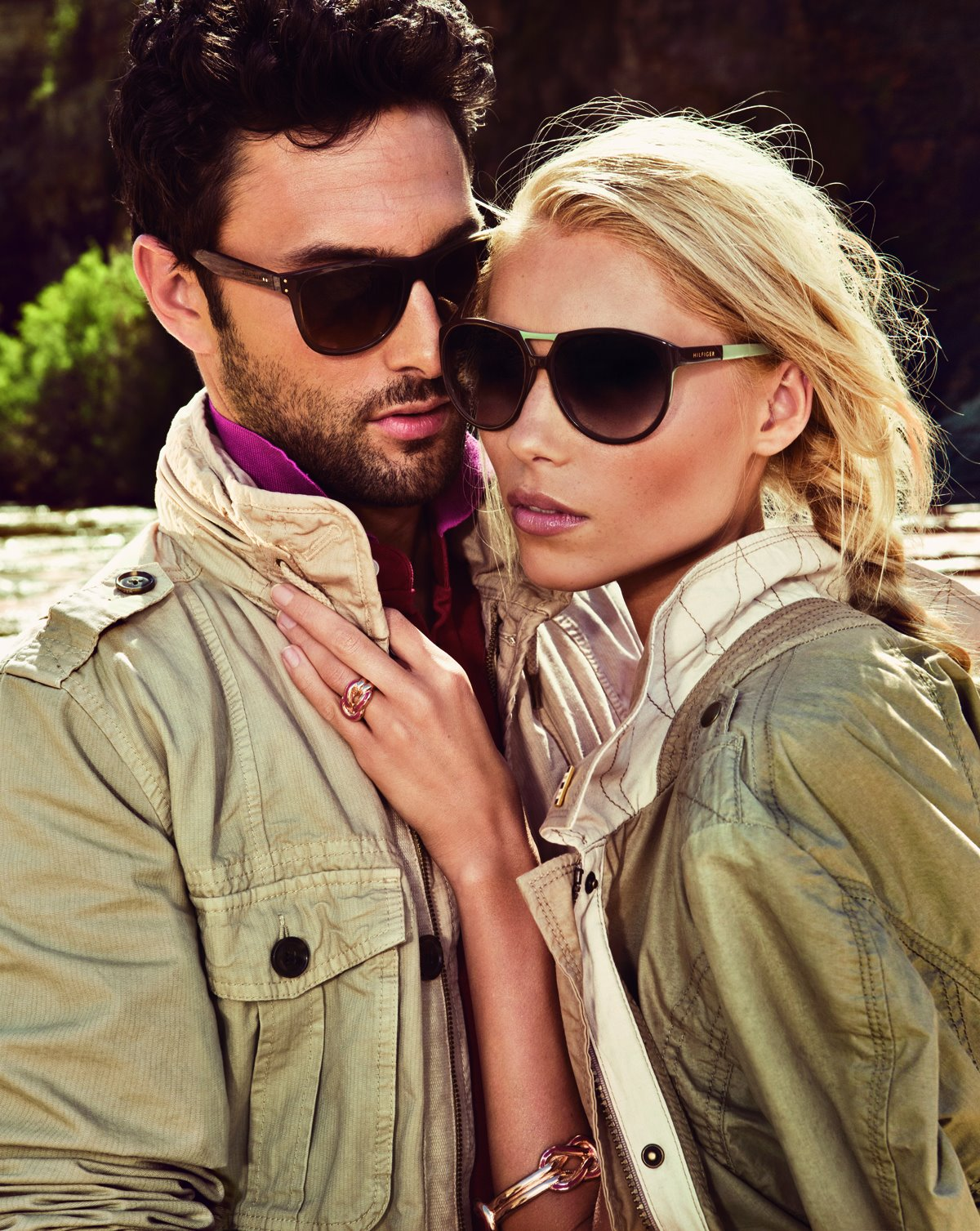 Noah Mills Wears Casual Shades for Tommy Hilfiger's Spring/Summer 2012 Sunglasses Campaign