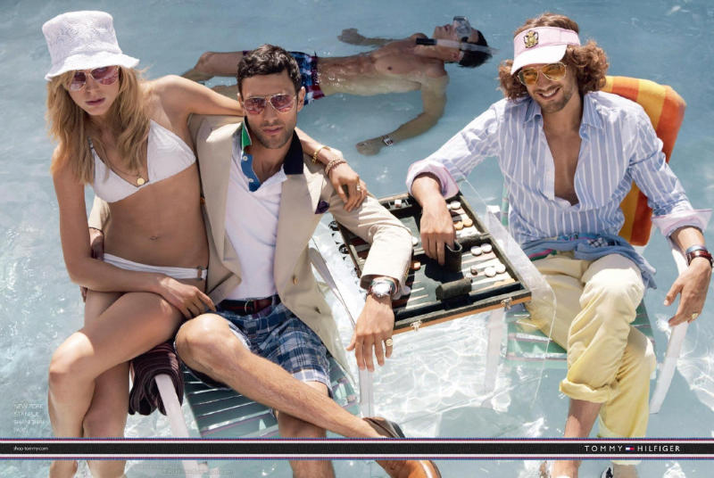 Noah Mills & Max Rogers for Tommy Hilfiger Spring 2011 Campaign