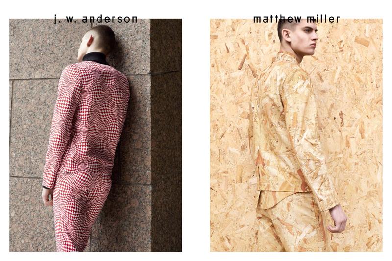 Rafa Bodgar & Rokas Zillionis Wear Standout Prints for Novembre Magazine #5