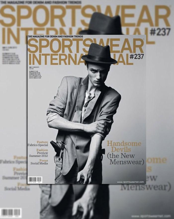 Oskar Tranum for Sportswear International May/June 2011