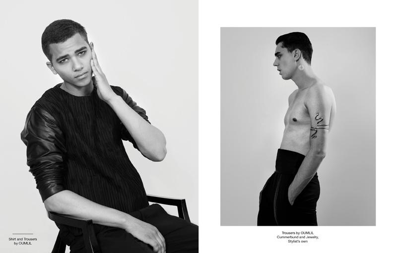 Keith Hernandez, Marc Massa & Nicola Wincenc by Alex Kirzhner for Oumlil Fall/Winter 2012