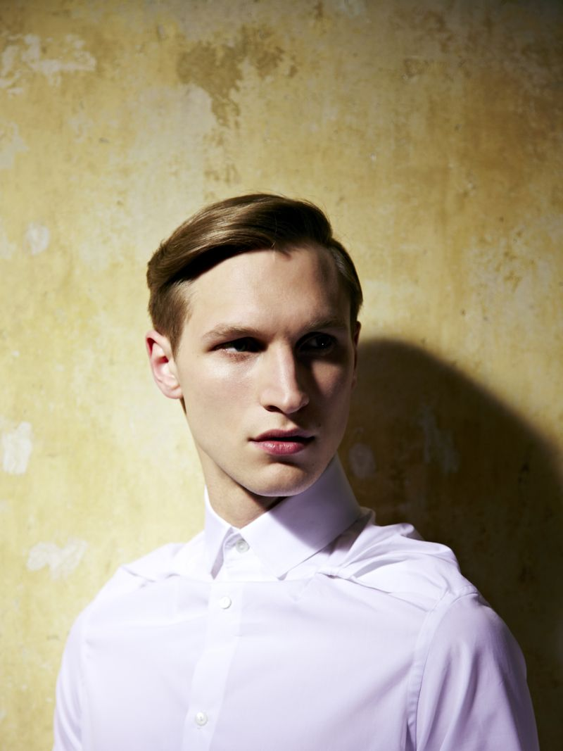 Andreas Brunnhage by Duane Nasis for Palmer//Harding Fall/Winter 2012