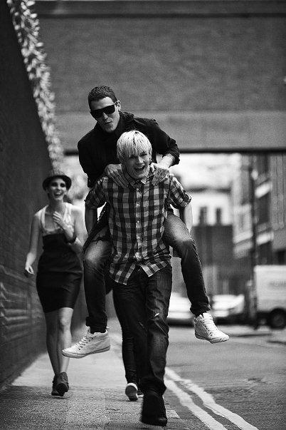 Campaign   Josh & Luke for Pull & Bear London