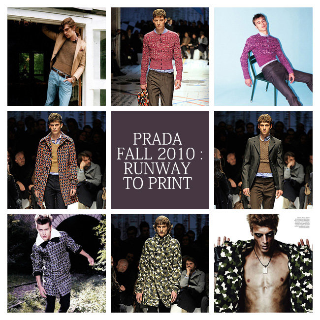 Prada Fall 2010 : Runway to Print