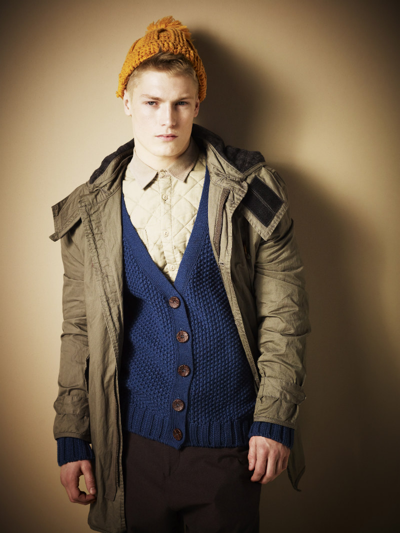 Harry Goodwins & Ralph Ward by Nick Haddow for River Island Fall 2011 Campaign