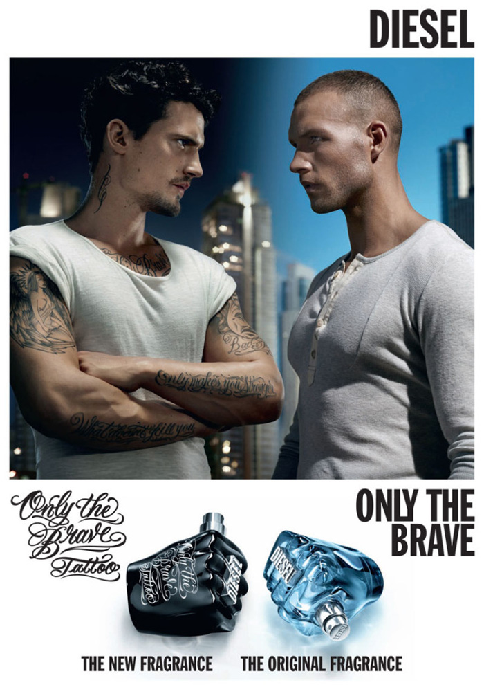 Sam Webb & Lucas Kerr for Diesel Only The Brave Tattoo Campaign