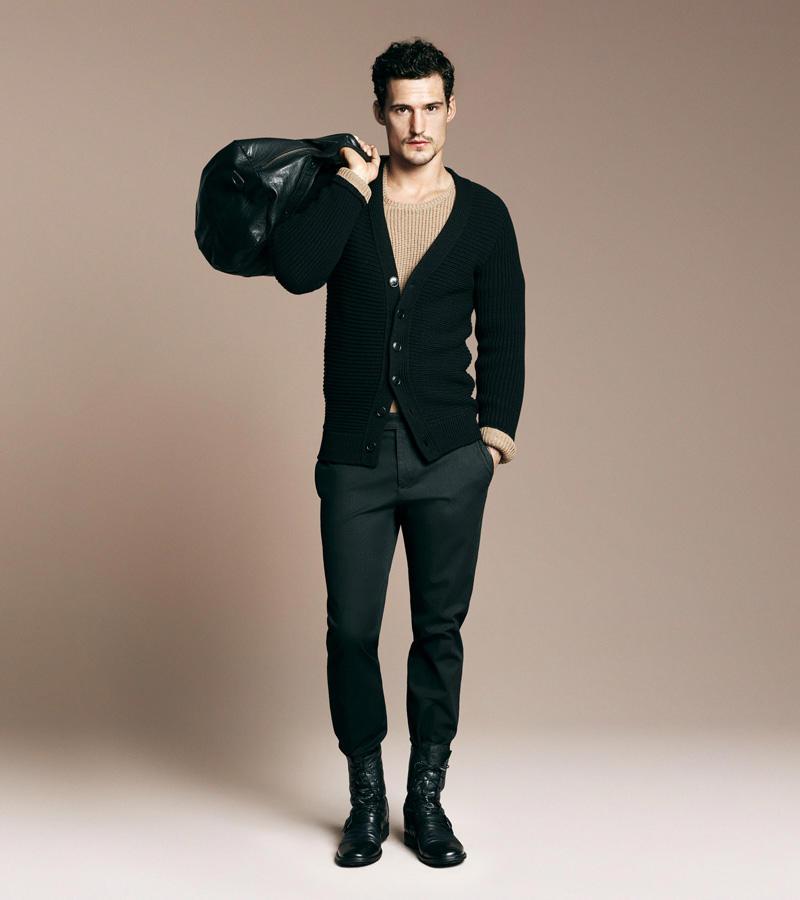 Sam Webb for Zara MAN Fall/Winter 2010