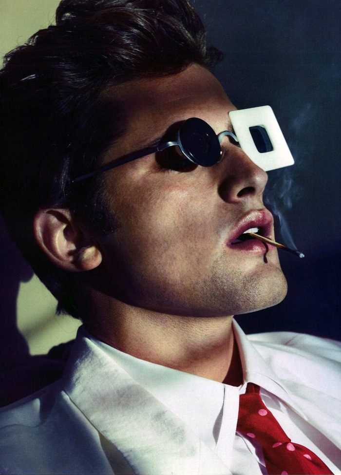 Sean O'Pry by Alexei Hay for GQ Germany