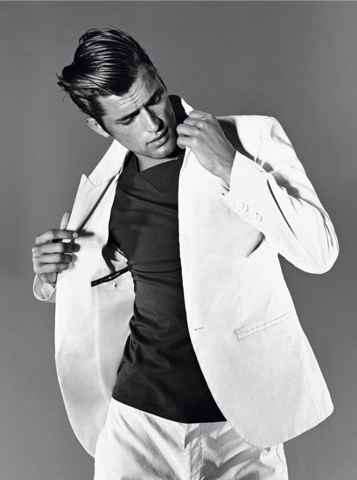 Sean O'Pry by Alexei Hay for Hugo Boss Spring/Summer 2012 Campaign