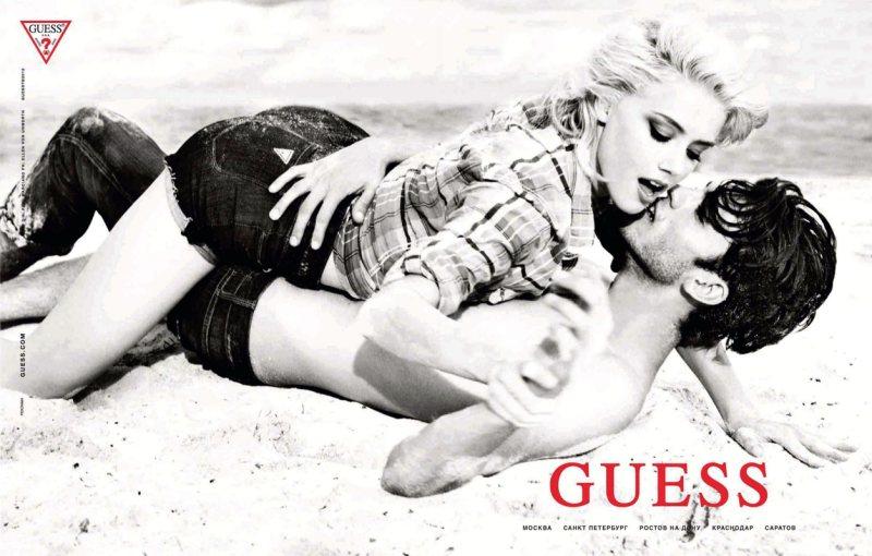 Silviu Tolu by Ellen von Unwerth for Guess Spring/Summer 2012 Campaign