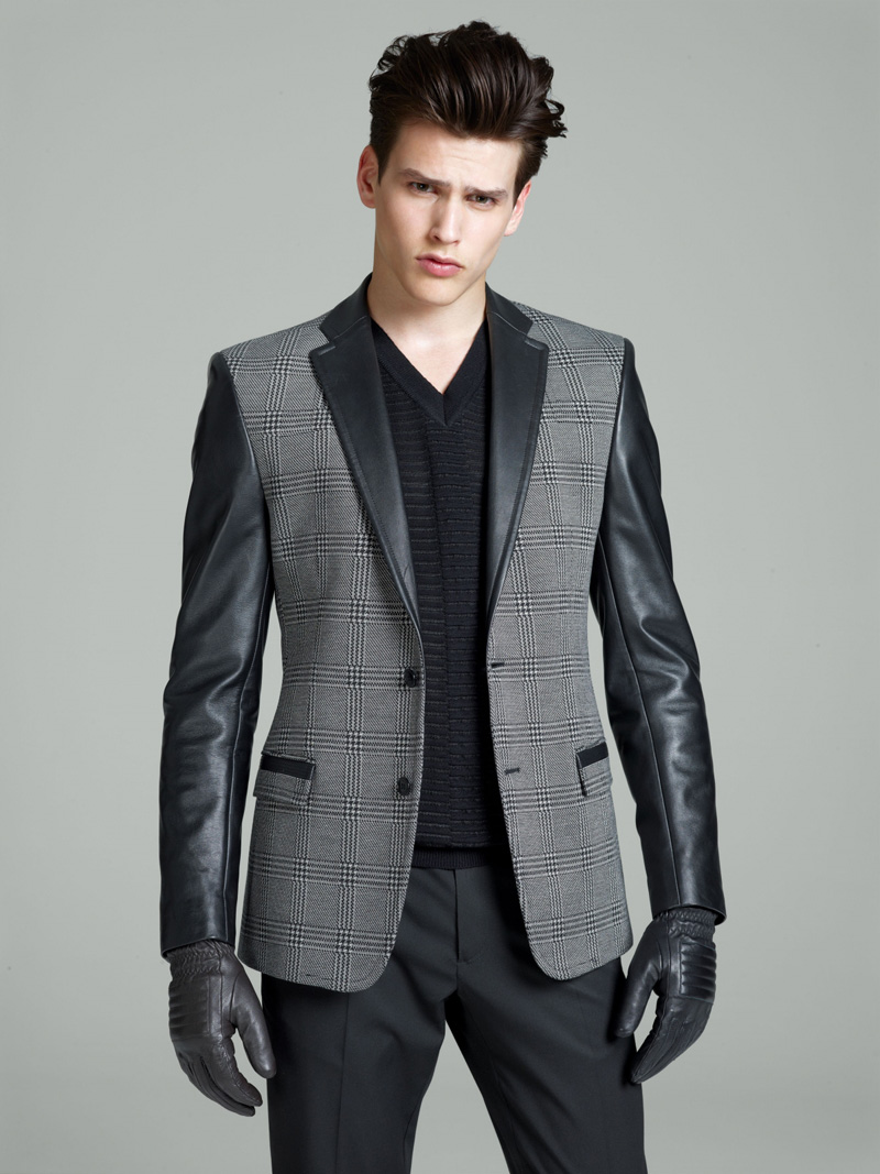 Simon Van Meervenne is a Slick Vision for Versaces Fall/Winter 2012 Collection image