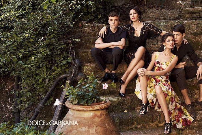 Simone Nobili by Giampaolo Sgura for Dolce & Gabbana Spring 2012 Womenswear Campaign