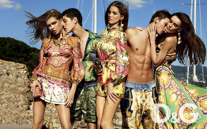 Alfred Kovac & Simone Nobili are Infatuated for D&G's Final Campaign