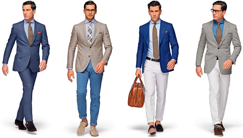 Suitsupply Boasts the Gentleman's Tailored Summer