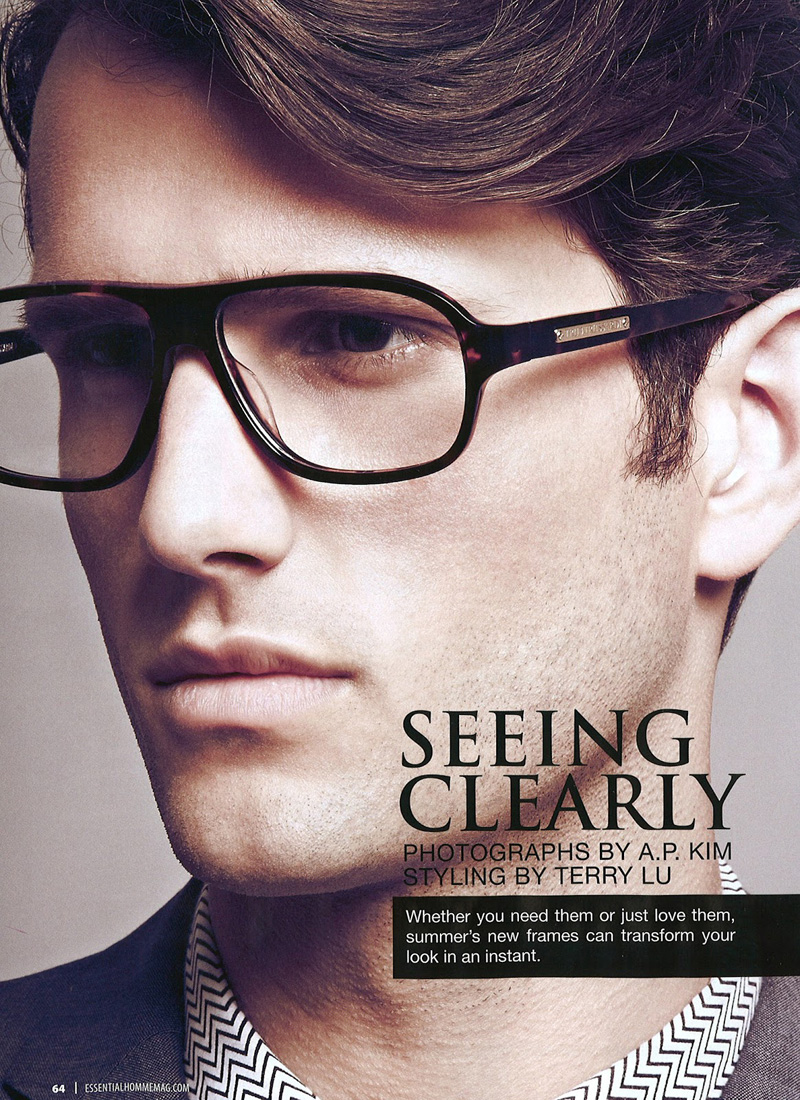 Terron Wood is a Clear Vision for Essential Homme