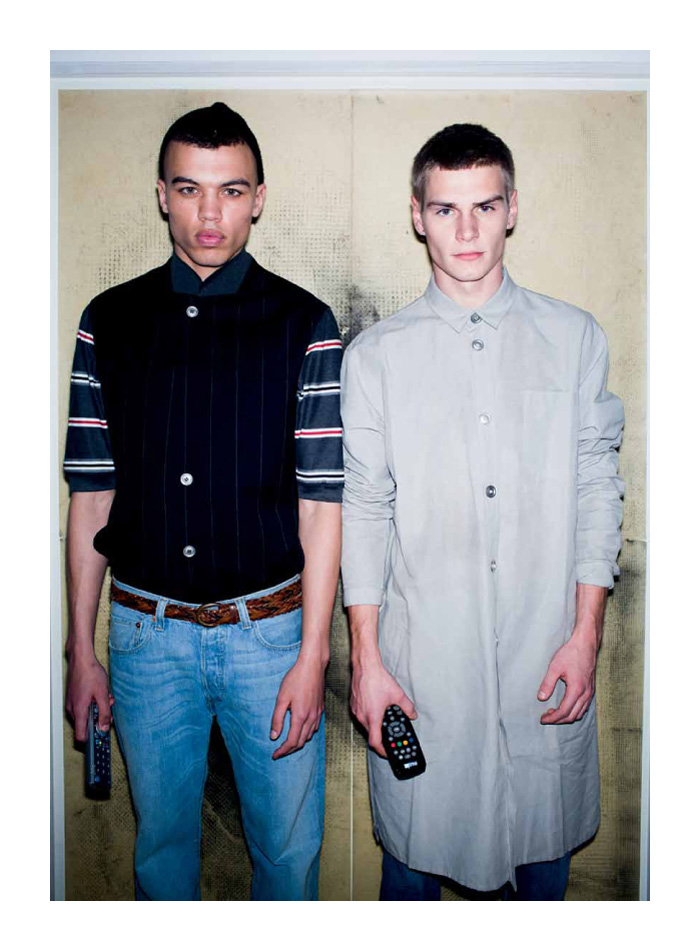 Dudley O'Shaughnessy & Ralf Javoiss by Kuba Dabrowski for unFLOP paper