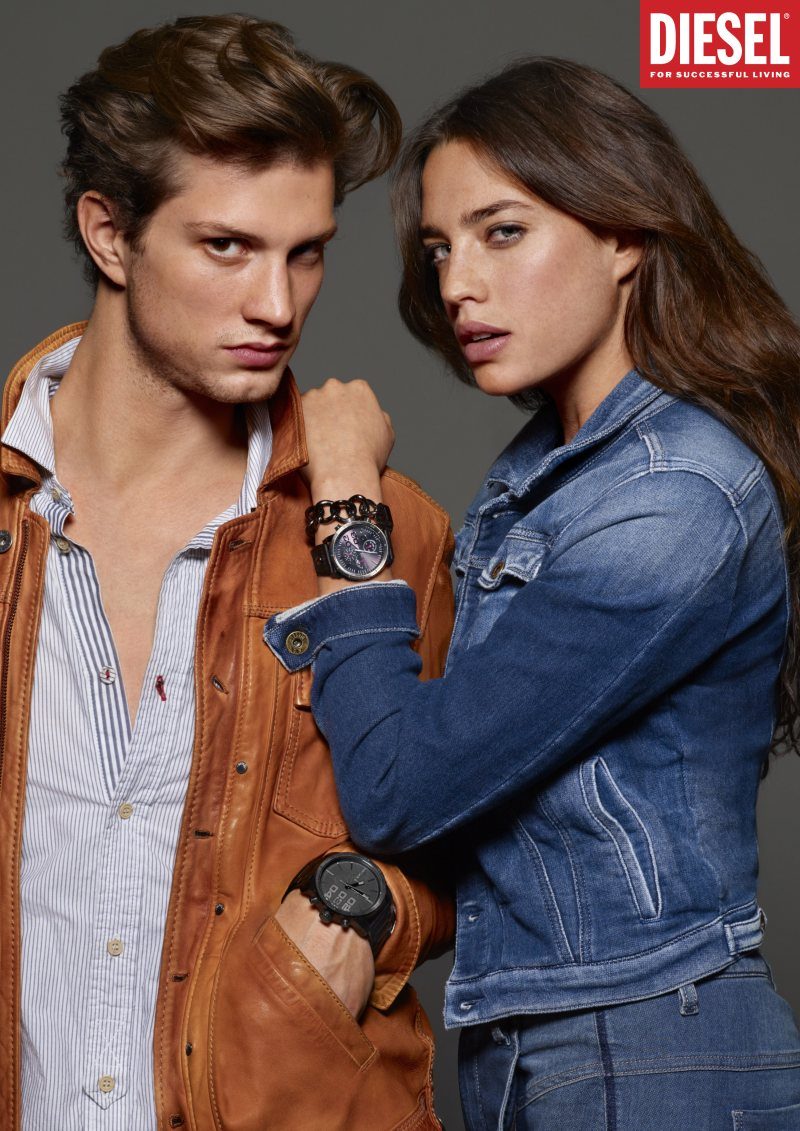 Theo Hall for Diesel Spring/Summer 2012 Watch Campaign