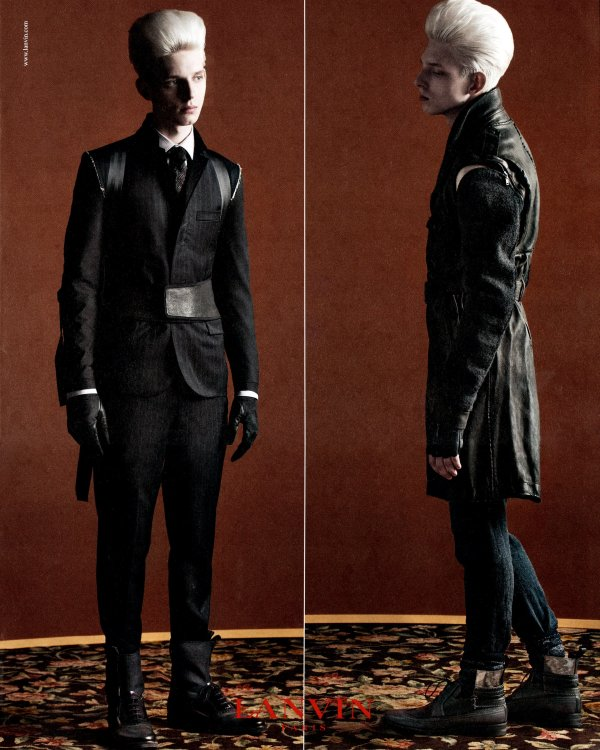 Thomas Penfound by Inez & Vinoodh for Lanvin Fall 2010 Campaign