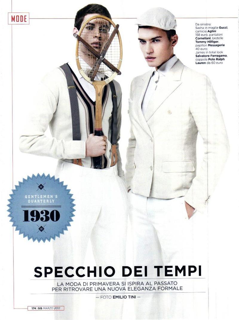 Specchio Dei Tempi by Emilio Tini for GQ Italia