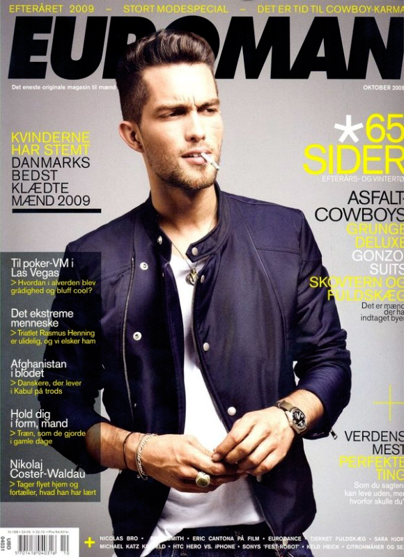Euroman October 2009 Issue | Tobias Sørensen