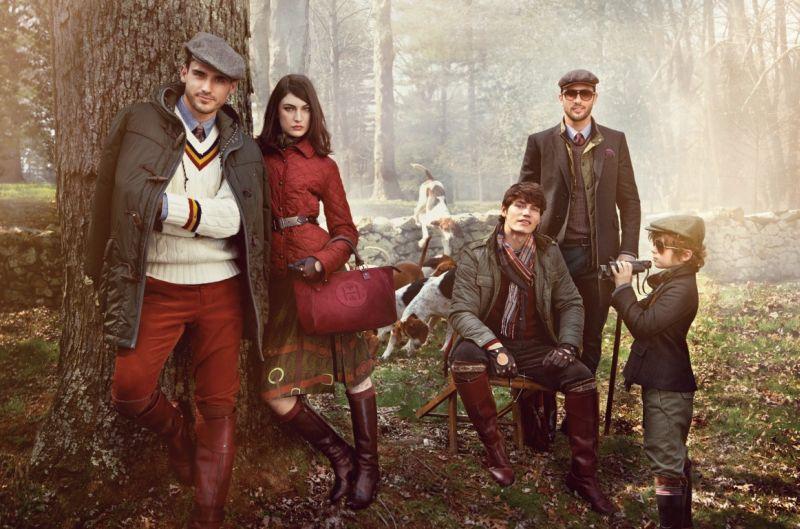 Arthur Kulkov, Max Rogers, Noah Mills, Sam Way & More for Tommy Hilfiger Fall/Winter 2012 Campaign