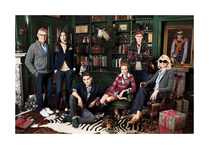 Arthur Kulkov & Reid Prebenda by Doug Inglish for Tommy Hilfiger Winter 2011 Campaign