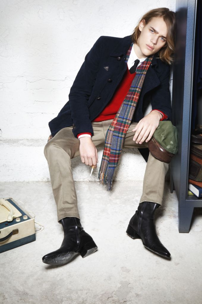 Ton Heukels has School Angst for Dsquared² Fall/Winter 2012