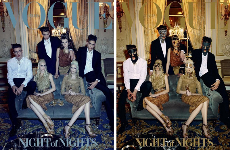 Prom Night by Steven Meisel for Vogue Italia