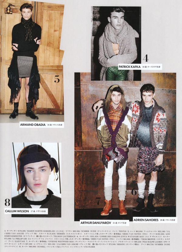 Style Watch | Knits & Pattern Mixing