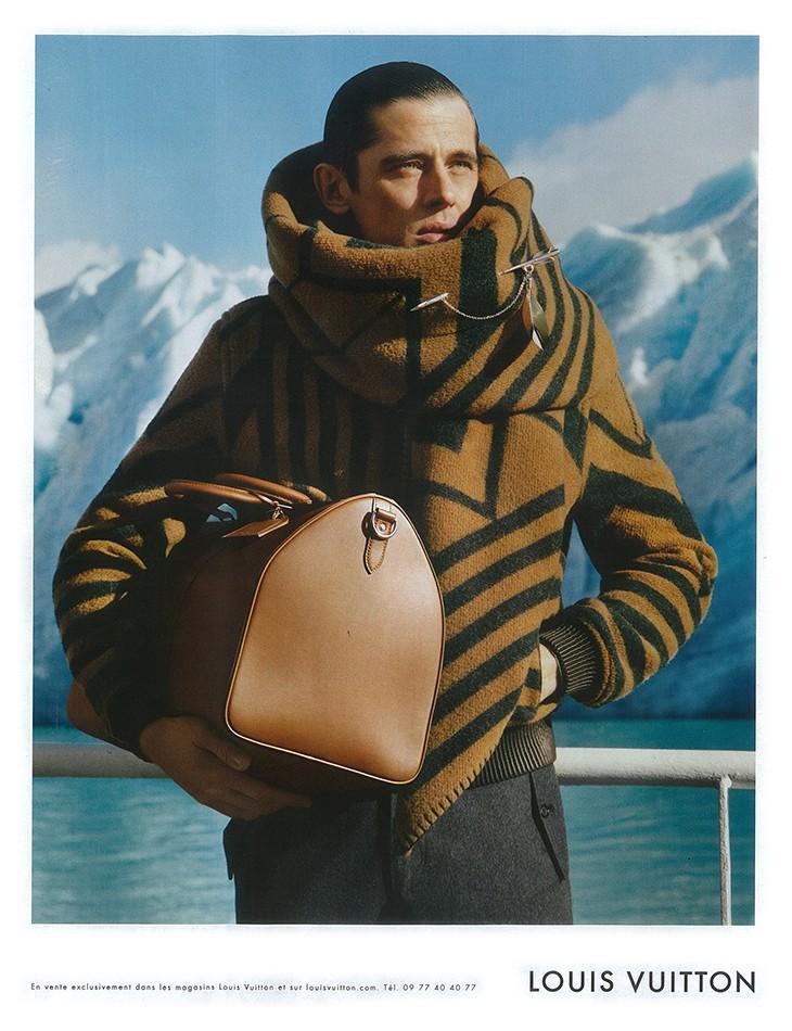 Alasdair McLellan Captures a Bundled Werner Schreyer for Louis Vuitton Fall/Winter 2012 Campaign