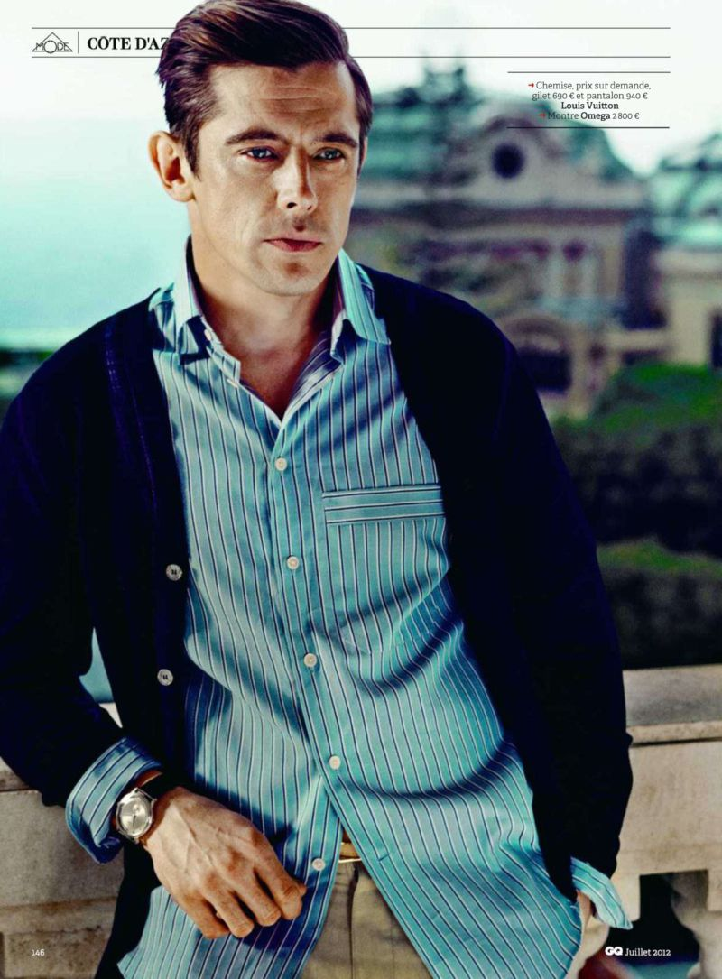 Werner Schreyer Visits the French Riviera in GQ France's July 2012 Issue