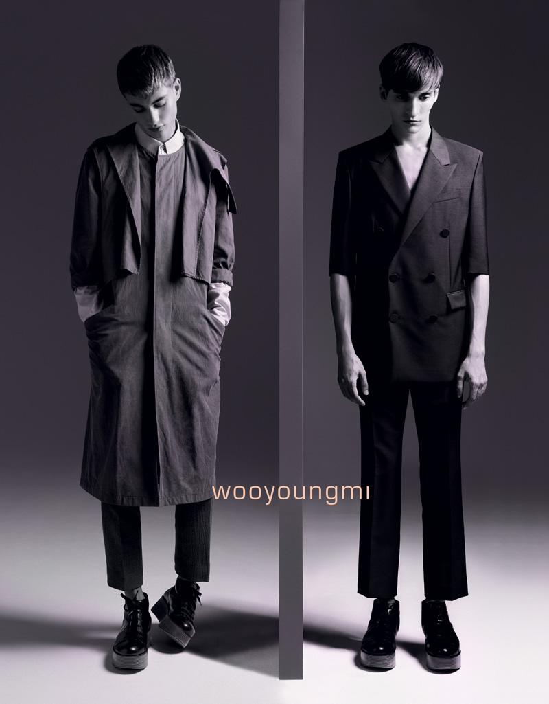 Wooyoungmi Spring 2011 Campaign | Matvey Lykov & Johannes Linder by Marton Perlaki