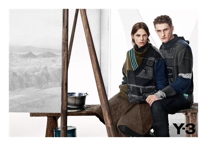 Victor Nylander & Thomas Sottong Star in Y-3's Fall/Winter 2012 Campaign