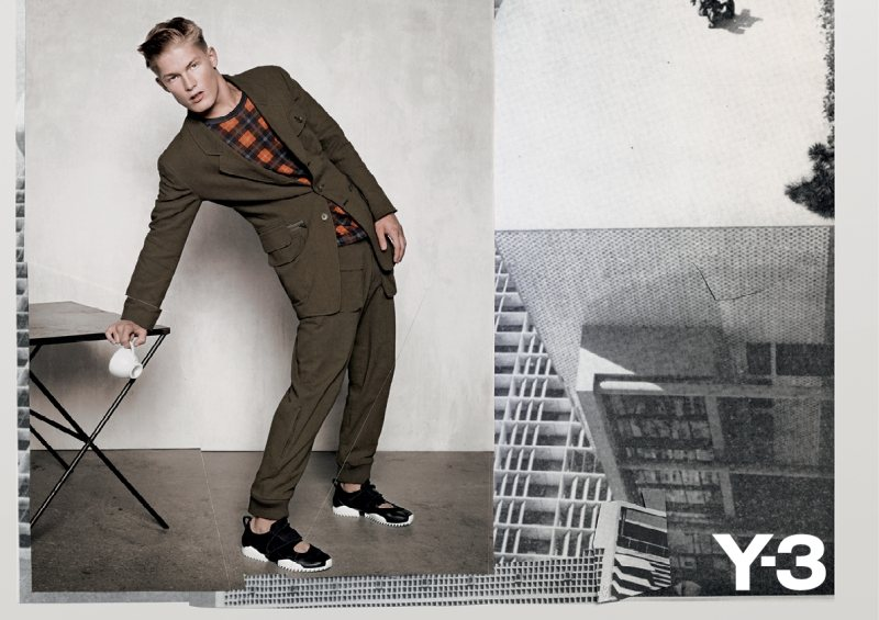 Harry Goodwins by Collier Schorr for Y-3 Spring/Summer 2012 Campaign