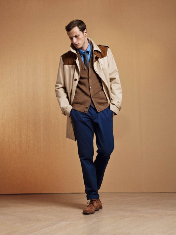 Lars Burmeister Steps Out for Façonnable Pre Fall 2012 Lookbook image