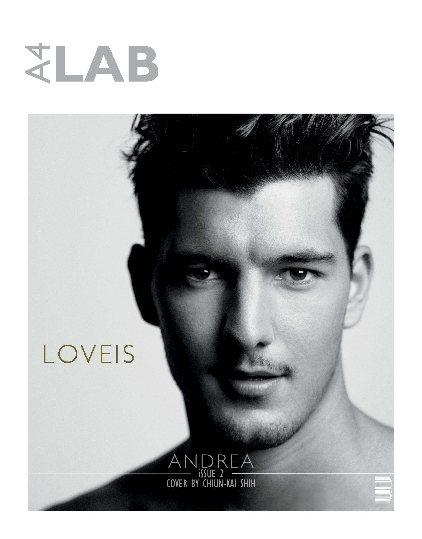 Andrea Preti & Taylor Fuchs Cover LAB A4