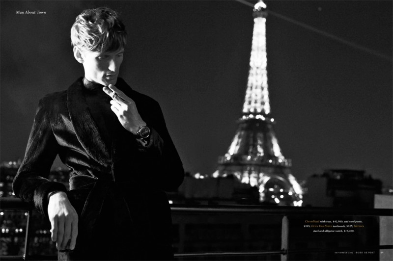 Bastiaan Ninaber Embraces Parisian Elegance for Robb Report