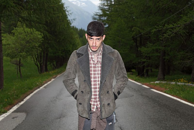 Daniel Bamdad Goes Camping for Takeshy Kurosawa Fall/Winter 2012 Campaign