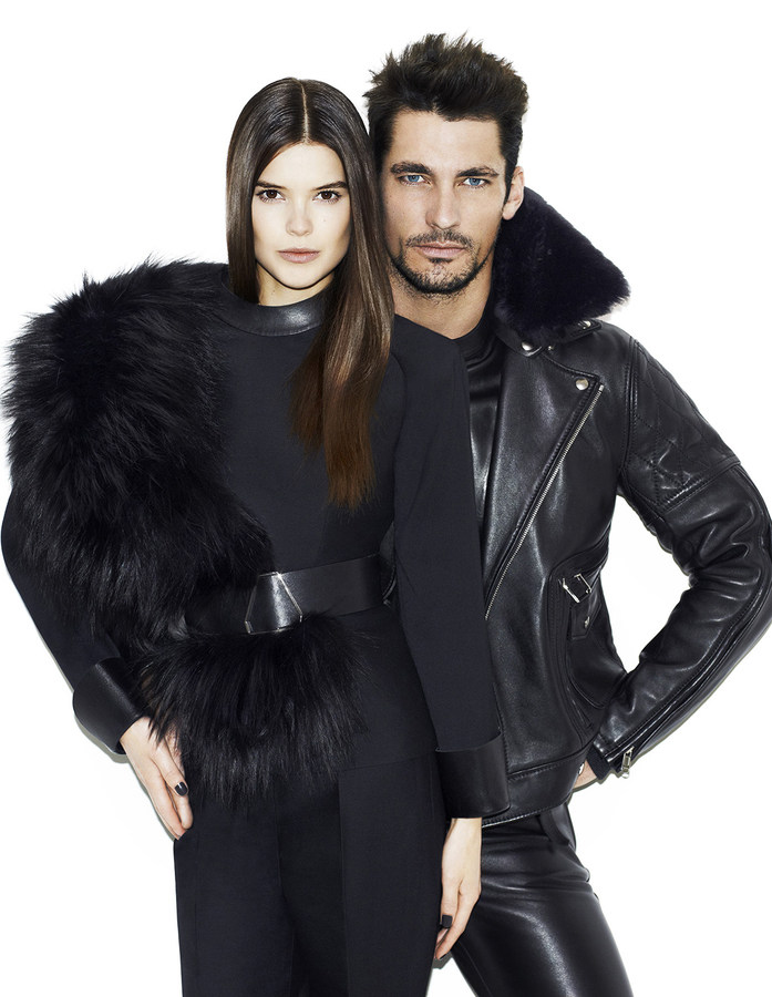 David Gandy is the New Black for Vogue Japan