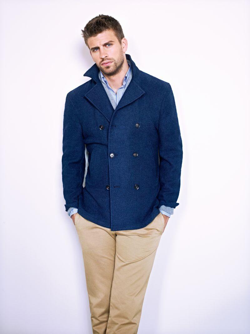 Gerard Piqué Returns for H.E. by Mango Fall/Winter 2012 Campaign