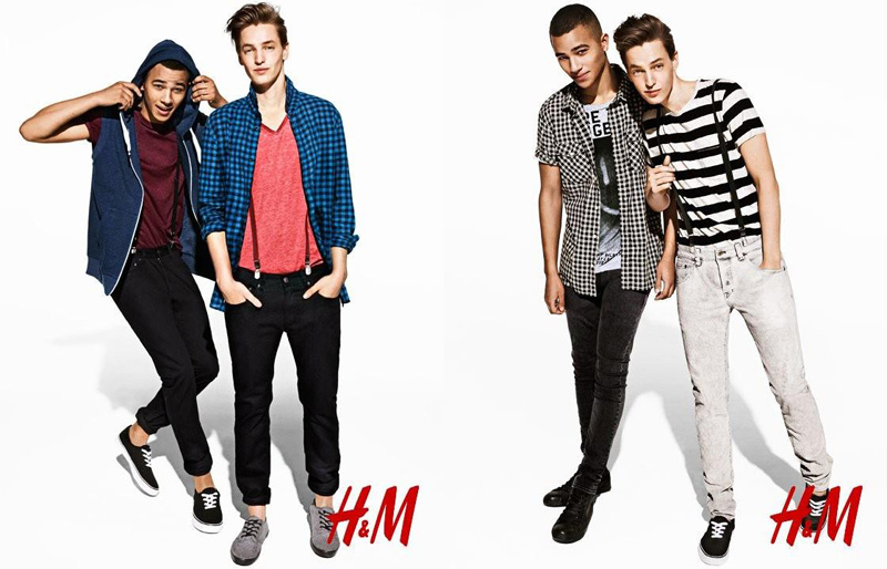Keith Hernandez & Rutger Derksen Charm for H&M Divided Fall/Winter 2012 Campaign