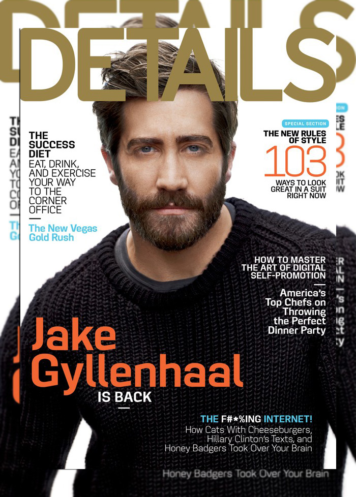 Jake Gyllenhaal Snags the September Cover of Details