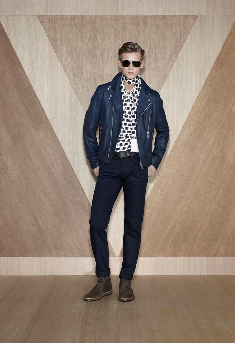 An Eye-Catching Alexander Johansson Graces Louis Vuitton Fall/Winter 2012 Lookbook