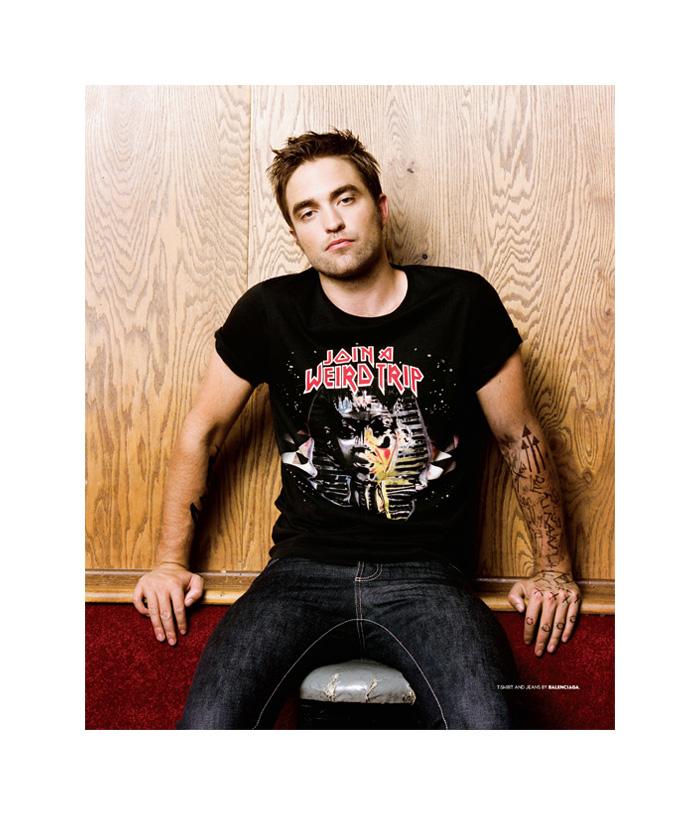 Robert Pattinson is Casual for BlackBook