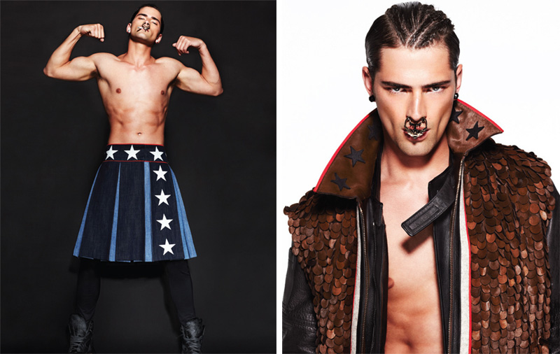 Sean O'Pry is a Givenchy Fiend for Dansk