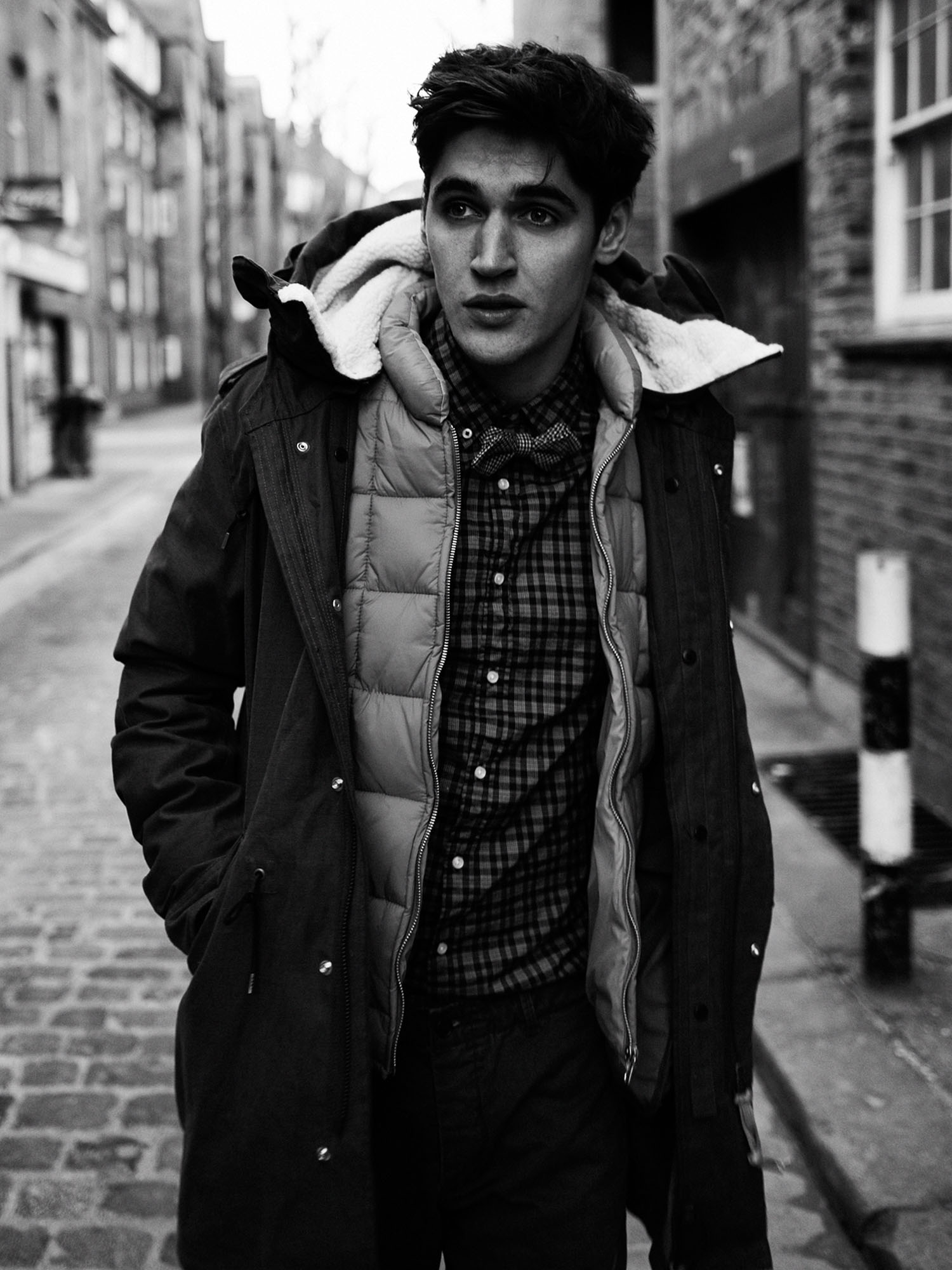 Isaac Carew Seeks his Personal Style for Scotch & Soda Fall/Winter 2012 Campaign