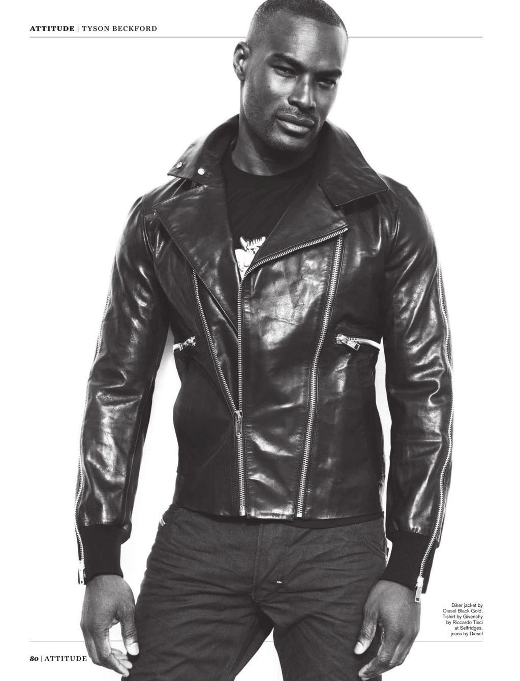 Tyson Beckford Covers Attitudes September Issue image