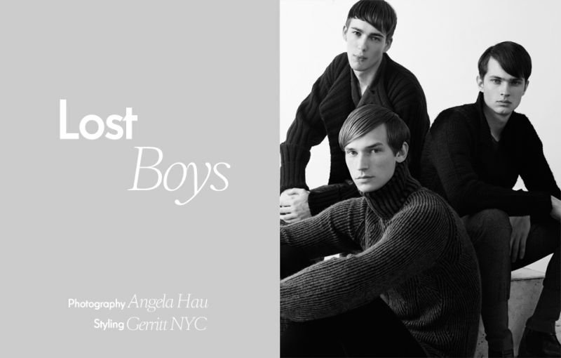 Milo Spijkers, Philipp Bierbaum & Anderson Weisheimer are 'Lost Boys' for Used Magazine