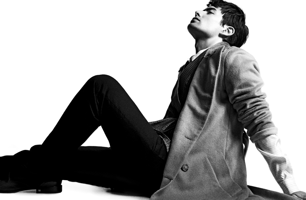 George Young Sharpens His Style for Designare Homme